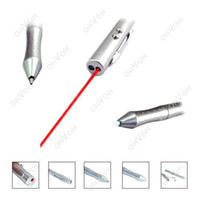 Wholesale S5Q in1 New LED Portable Laser Pointer Pen PDA Stylus Teaching Torch Assistant AAAAOW