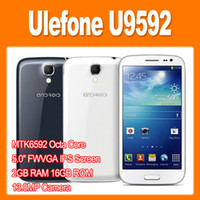 Best Ulefone U9592 MTK6592 Octa Core 1.7GHz 5.0 Inch IPS Screen Android 4.2 Phone 13.0MP Camera 2GB 16GB 3G GPS OTG Gesture Sensing ep 0301305