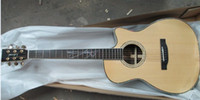 in germany - 2014 New Factory Germany guitar show Lakewood custom acoustic electric guitar solid spruce top amp rosewood sides sight shooting in stock