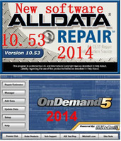 Wholesale 2014 Mitchell ondemand and alldata all data car repair software fast