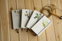Wholesale NEW vintage flower style Notebook Notepad Memo Diary Gift