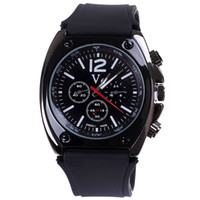 Cheap Hot sale watch men brand Japan movement tonneau case sport casual watch running men relogio masculino