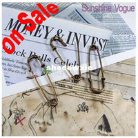 Wholesale off DIY brooch pin Bronze color Jewerly accessories saftey pin mm CPAM