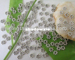 Wholesale Tibetan silver Daisy spacer beads mm M228