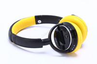 Wholesale Wireless CSR Bluetooth Stereo headphone with microphone TF Card MP3 Screen