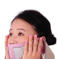 Wholesale S5Q Anti Wrinkle Half Face Lift V Face Line Slim Up Slimming Cheek Mask Strap Belt AAACQS