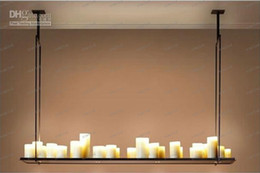 Promotion lumière pendante kevin reilly LLFA316 120cm * 31cm 20 LED Hot Candle Holder