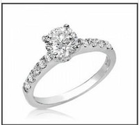Wholesale EGL CERTIFIED CT NATURAL WHITE ROUND CUT DIAMOND ENGAGEMENT RING KT EGL CERTIFIED CT NATURAL WHITE ROUND CUT DIAMON