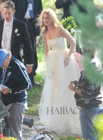 2014 Revenge TV Emily Thorne Wedding Dresses White Vintage L...