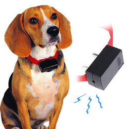S5Q Mini anti-aboiement Dog Training cesser d'aboyer collier ultrasons Shock Control Aid AAAAMY