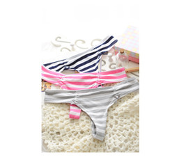 Wholesale 3 Different colors Best Quality VS G string Underwear women lady s Sexy thong Lace Pink panties briefs T back