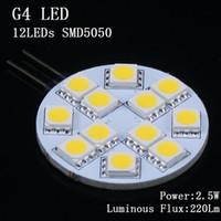 Wholesale high power w led car bulb SMD Degree mini lampe led g4 v g4 led dimmable