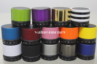 Wholesale Wireless HiFi Speaker S11 Mini Bluetooth Speaker with Player LED Light colorful Support TF Card Long Standby Time new arrival