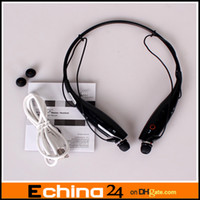 Wholesale Bluetooth Headset for LG Tone HBS Wireless Mobile Earphone Bluetooth Headset for Mobile Phone