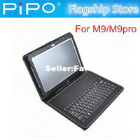 Cheap Micro USB keyboard leather case for PIPO M9Pro M9 free shipping