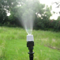 patio - S5Q m Outdoor Sprinkler Garden Patio Misting Cooling System Plastic Mist Nozzle AAABPA