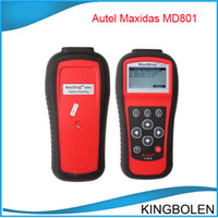Wholesale DHL Fedex Autel MD801 Pro MaxiDiag PRO MD in code scanner JP701 EU702 US703 FR704 OBDII OBD2