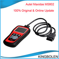Best Two Years Quality Warranty Autel MaxiDiag Elite MD802 All System Advance Graphing OBDII Scan Code Clearing Tool Full System
