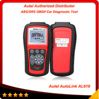 Original Autel AutoLink AL619 OBDII CAN ABS and SRS Scan Too...