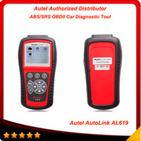 Newly Autel AutoLink AL619 ABS SRS + CAN OBDII Diagnostic To...