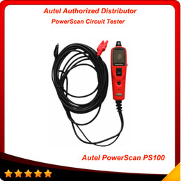 Wholesale 100 Original Brand new Autel PowerScan PS100 Circuit Tester Electrical System Diagnostic Tool ultimate