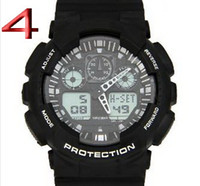 Cheap Luxury New Arrival Sports Shock Watch Digital for Men Jelly Wrisstwatch Double Led Show Movement Waterproof Wrist Fashion Clock