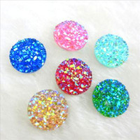 Circle character resins - 12mm lovely amazing AB flatback Resin Round stone Beads for DIYdecoration