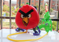 Boys 0-12M Plastic freeshipping Birds backpack type air pressure water gun toys for children