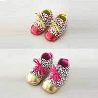 Wholesale Baby s Flexible Soft Soled Leopard baby Shoe Age Months YBB