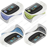 Wholesale New CE Colors OLED Fingertip Pulse Oximeter Spo2 Monitor Home Care MYY8594