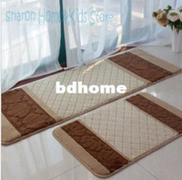 Wholesale Indoor outdoor waterproof non slip floor mats kitchen mat balcony rug door carpet bath mat bathroom x120cm