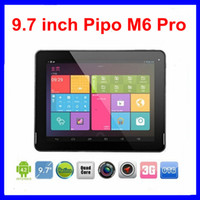PIPO 10 inch Android 4.1 Pipo M6 Pro 3G Tablet PC Android 4.2 RK3188 Quad core 1.6GHz 9.7 inch Retina 2048x1536 2GB 32GB Bluetooth HDMI