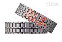 Wholesale Led watch IRON SAMURAI Japanese Inspired Volcanic lava mens watches Creative mix color vivian5168