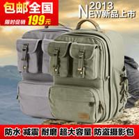Wholesale Wen Fan new Canon SLR camera bag backpack shoulder camera bag Nikon Multi Camera