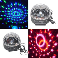 Wholesale New Brand DMX512 Disco DJ Stage Lighting Digital LED RGB Crystal Magic Ball Effect Light for Xmas Party and New year Party