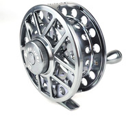 Wholesale fiee shipping ZF series Aminum Die casting Fly Fishing reel
