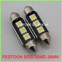 Wholesale New mm mm Canbus LED SMD smd led Lumen Car Festoon Dome Light Lamp Bulbs White Lighting