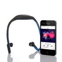 Wholesale Sports Stereo Wireless Bluetooth Headset Earphone Headphone for iPhone Galaxy S4 S3 HTC LG Smartphone