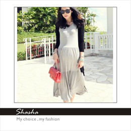Wholesale Round Neck Maternity Dresses Loose maternity wear Dress Summer Fashio n dress Women skirt short sleeve Pregnant Womens clothes Spring Coat