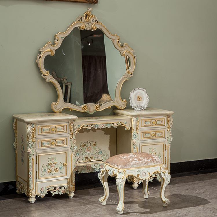 Classic French Style Furniture,handwork Gilding Golden Foil Royalty  Dressing Table French Style Furniture Handwork Gilding Royalty Dressing  Table Online ...