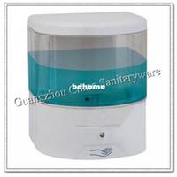 alcohol distributors - electronic soap holder ABS visiable liquid dispenser infrared sensor disinfectant distributor auto alcohol droper