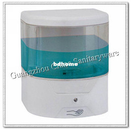 Wholesale electronic soap holder ABS visiable liquid dispenser infrared sensor disinfectant distributor auto alcohol droper