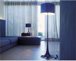 Wholesale New Arrival FLOS Spun Gentleman Light Floor Lamp Sitting Room Art Aluminum Floor Lamp High grade Sofa Edge Beside Lamp Hot Sale