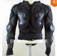 Wholesale Motorcycle Full Body Armor Jacket Spine Chest Protection Gear Size M L XL XXL black