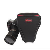 Neck Straps Nylon Lens Cases Rhema sleeve Nikon SLR cameras Canon 5D3 5D2 6D 70D 60D 700D triangle soft pack