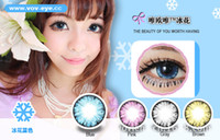 big contact lens - HOT Ice Flowers Contact lenses lens Color Contact four colors