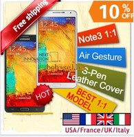 Best Air Gesture Note 3 N9006 N9000 MTK6589T Quad Core 1.3G Hz 1G RAM 8G ROM android 4.3 phone 5.7 inch 1920*1080 FHD Screen 13MP 3G GPS Smartpho