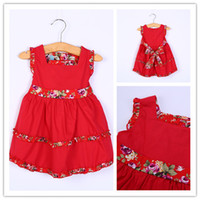 Casual Dresses Square Knee Length Girls Dress Children Casual Princess summer Dress Exclusive Design Good Quality Birthday Present