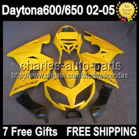 7gifts Factory yellow For Triumph Daytona 600 650 02- 05 Dayt...