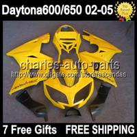 7gifts Factory yellow For Triumph Daytona 600 650 02- 05 Dayt...
